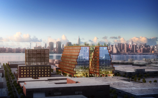 The Williamsburg Generator by Gensler and HWKN. (Courtesy lifang)