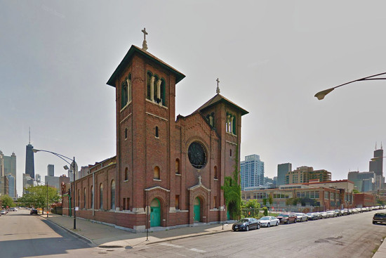 St. Dominic's Church in Chicago. (Courtesy Google)