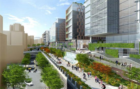The 2012 vision for Union Station. (Courtesy Akridge/SBA)