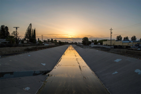 The Los Angeles River. (Courtesy LA River Revitalization Corporation)