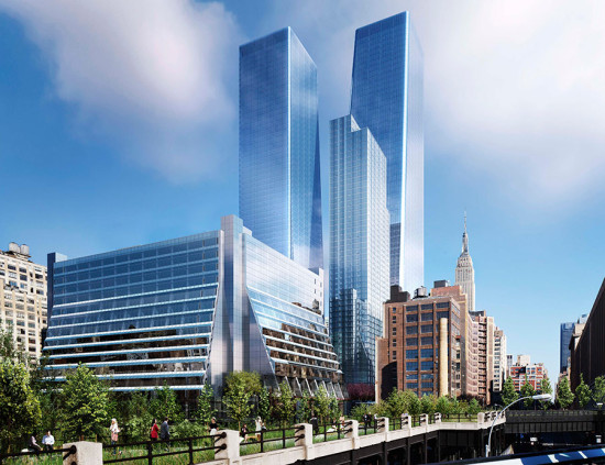 The Manhattan West Development. (Courtesy Brookfield)