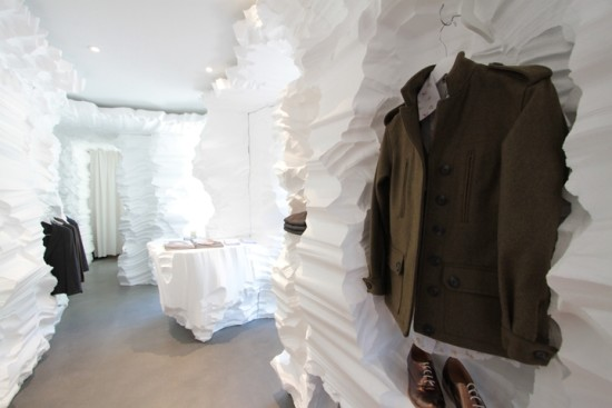 Richard Chai and Snarkitecture, Building Fashion 2010. Image courtesy BOFFO.