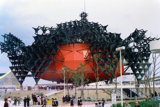 Toshiba IHI Pavilion. (Courtesy Flickr/m-louis)