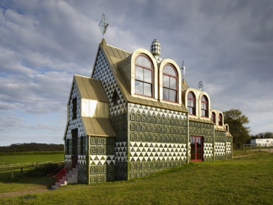 House for Essex by Grayson Perry and FAT. (Courtesy Living Architecture)