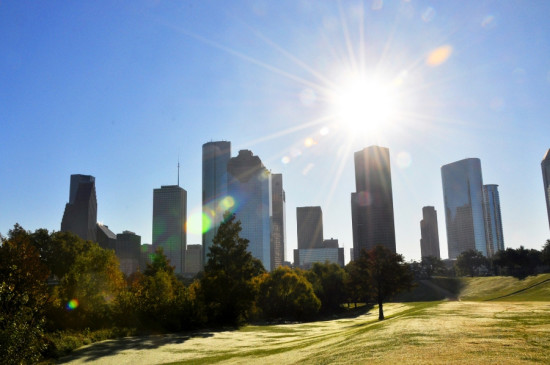 Houston's sunny climate presents a special set of challenges to facade designers and fabricators. (Theodore Scott / Flickr)