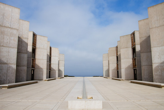 "A scene from the Cathedrals of Culture segment ""The Salk Institute,"" directed by Robert Redford. (Alex Falk)"