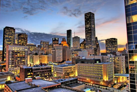 Downtown Houston. (eflon / Wikimedia Commons)