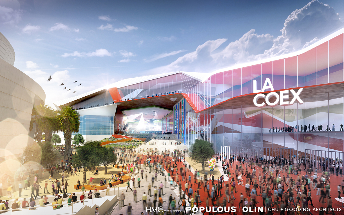 Here are three bold designs from winning teams that for Los angeles architecture
