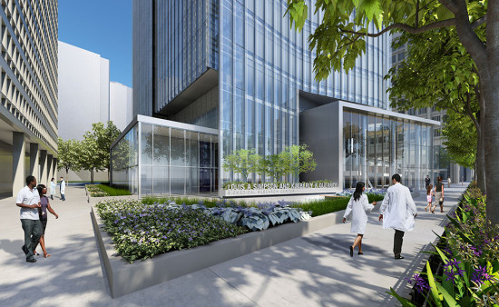The Louis A. Simpson and Kimberly K. Querrey Biomedical Research Center in Chicago. (Northwestern University, Perkins + Will)