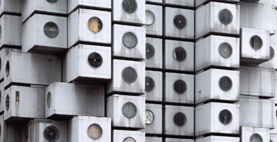 Noritaka Minami, Facade I, 2011, Tokyo, Japan. From the 2015 Individual Grant to Noritaka Minami and Ken Yoshida for 1972–Nakagin Capsule Tower. (Noritaka Minami)
