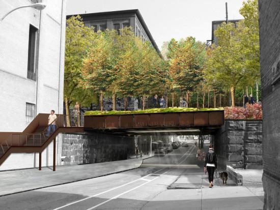 Reading Viaduct Phase One. (Courtesy Studio Bryan Hanes)