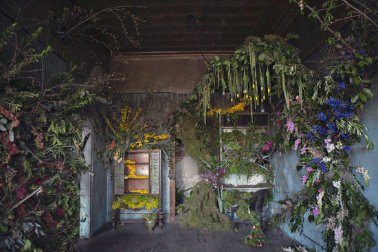 """The Flower House"" in Hamtramck, Detroit by florist Lisa Waud. (Heather Saunders Photography)"