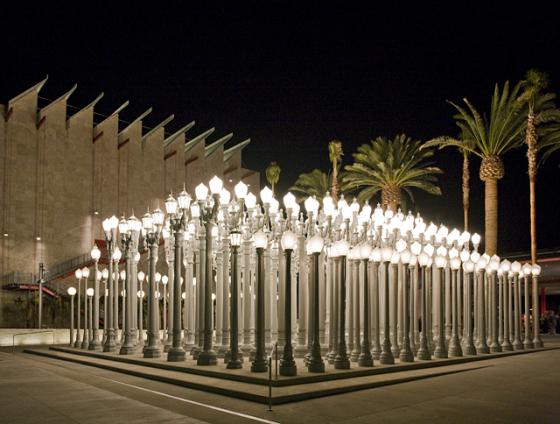 la street lamps