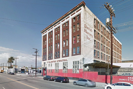 Soho House in reportedly interested in a warehouse at 1000 S. Santa Fe Ave. in Downtown Los Angeles. (Courtesy Google)