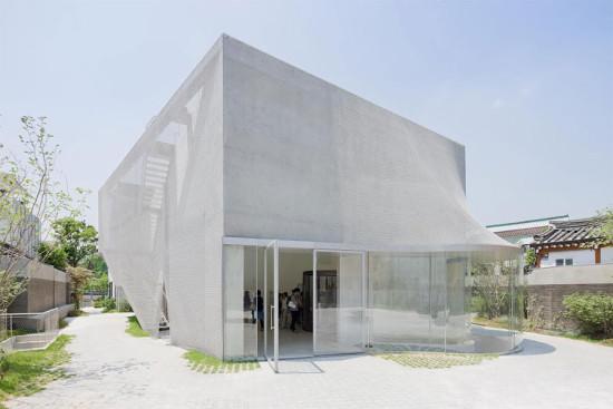 SO-IL's Kukje Gallery in Seoul, South Korea. (Courtesy SO-IL)