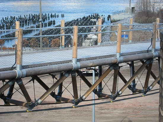 Squibb Park Bridge pre-Pierhouse development. (Branden Klayko / AN)