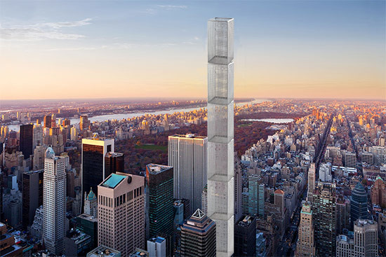 Is 432 Park really a supertall trashcan? (Montage by AN)