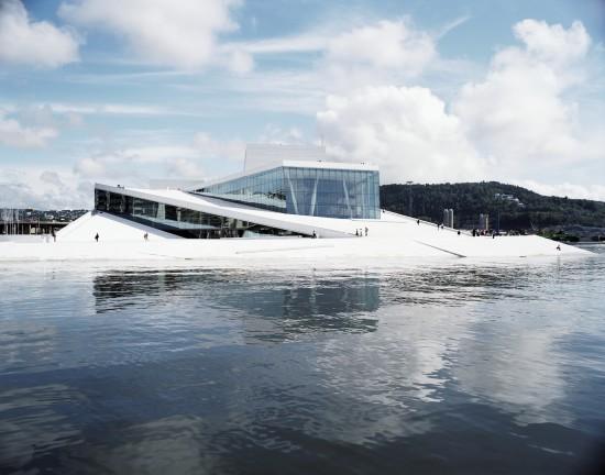 Snohetta's Norwegian National Opera and Ballet. (Courtesy Snohetta)