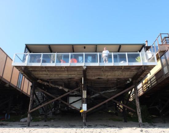 Hunt House viewed from the Beach (Steve Aldana, Esoteric Survey)