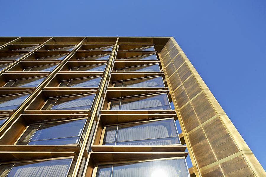 Adrian Smith Gordon Gill Architecture: Adrian Smith + Gordon Gill Bronze The Waldorf Astoria