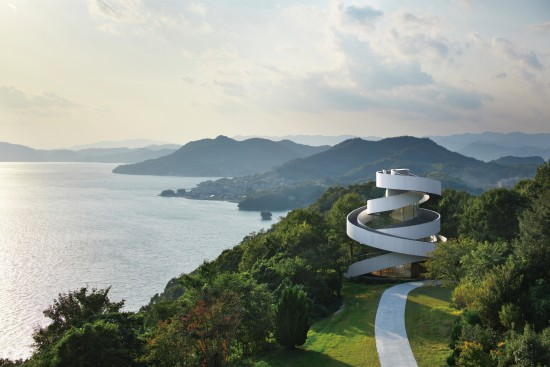 Ribbon Chapel for weddings, Seto Inland Sea, Japan, by Hiroshi Nakamura ...