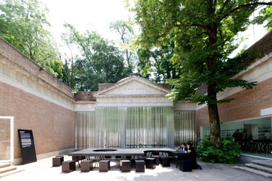 2014 US Pavilion at Venice Biennale. (Image via yellowtrace.com.au)