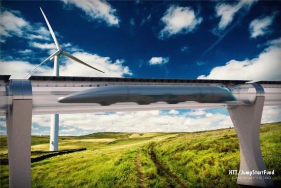 (Courtesy Hyperloop Transport Technologies)