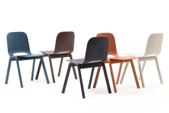 Touchwood Chairs by Lars Beller Fjetland. (Courtesy Lars Beller Fjetland)