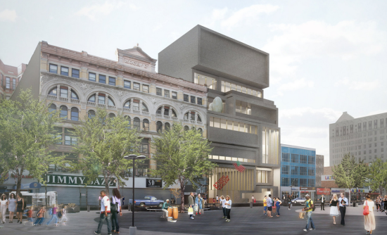 The Studio Museum in Harlem. (Courtesy Adjaye Associates)