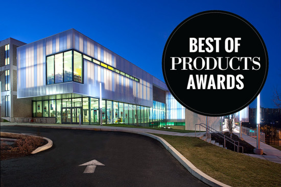 The winner in the Facades+Structural category, UniQuad Unitized Daylighting System by CPI Daylighting. (Courtesy CPI Daylighting)