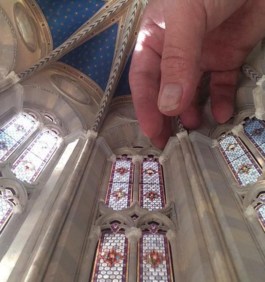 This Miniature Italian Gothic Cathedral By Pratt Alum Ryan