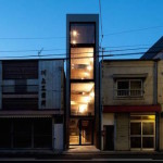 This skinny house in Tokyo is squeezed onto a lot only eight feet wide