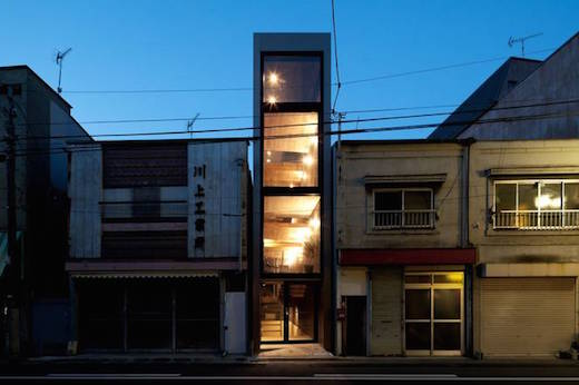 1.8 M residence in Tokyo. (Courtesy YUUA Architects & Associates)