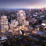 Frank Gehry grows a new—and twisty—development on the Sunset Strip