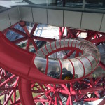 World's tallest tunnel slide to wind five times around the 2012 London Olympics Orbit Tower