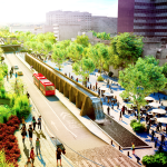 Fernando Romero has a plan to green Mexico City with the Cultural Corridor Chapultepec, a park-like linear thoroughfare