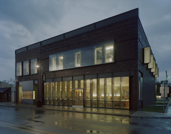 Gentry Public Library, Gentry (Courtesy Timothy Hursley)