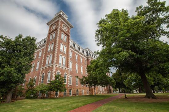 Old Main, Fayetteville (Courtesy the University of Arkansas)