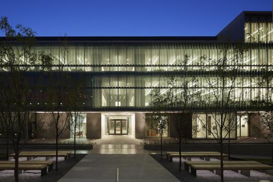 Vol Walker Hall at the University of Arkansas, Fayetteville (Courtesy Timothy Hursley)