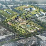 This dying mall in Silicon Valley will be reborn with a 30-acre blanket of green roofs including a vineyard, orchard, and walking trails