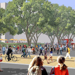 University of Texas at Austin is transforming Speedway into a pedestrian mall through campus
