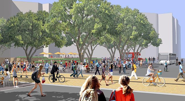 Rendering Of The Proposal (Courtesy PWP Landscape Architects)