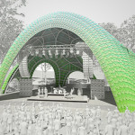 The Metamorphosis: Marc Fornes breaks ground on a parametric amphitheater in Maryland