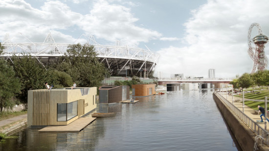 Buoyant Starts Floating Homes (Courtesy Baca Architects via NLA)