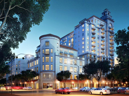 2020 Salzedo rental homes in Coral Gables. (Courtesy Andrew Frey / Codina)