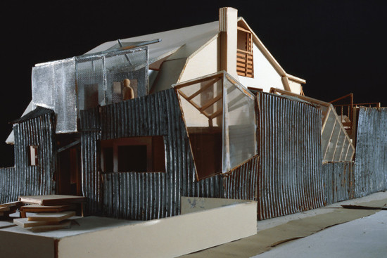 Frank Gehry, Gehry Residence, model, 1977–78 and 1991–94, Santa Monica, California (Courtesy MAK—Austrian Museum of Applied/Contemporary Art, Vienna, © 2015 Gehry Partners, LLP, © 2015Gerald Zubmann/MAK)