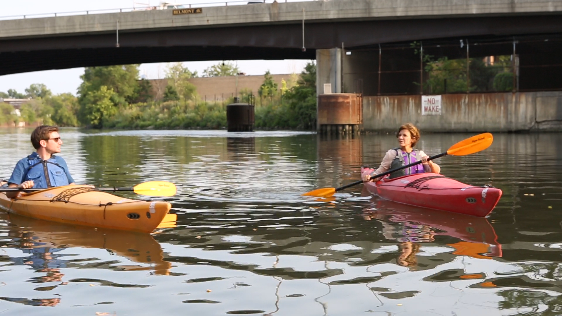 Exclusive Video Paddle Along With Jeanne Gang As She Kayaks The - Chicago kayak map