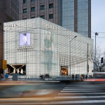 UUfie Transforms Flagship Store With Icy Cool Glass Block