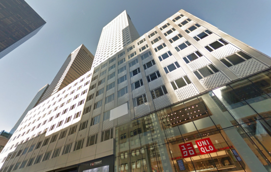 Current Office block between 52nd and 53rd St. (Courtesy Google)