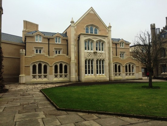 Whittle Building, Peterhouse, Cambridge. Courtesy Wikipedia